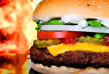 бургер еда диета
