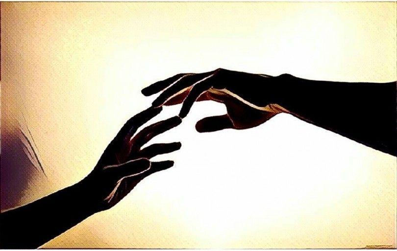 руки рука мотылёк