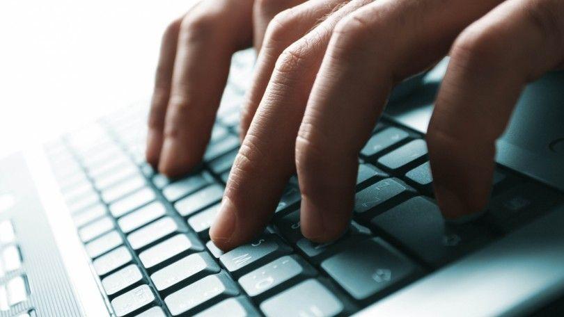 клавиатура руки рука работа комп