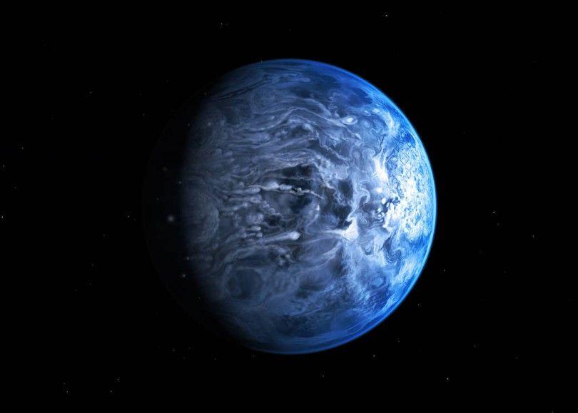 экзопланета HD 189733b планета космос