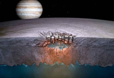 Европа Юпитер космос