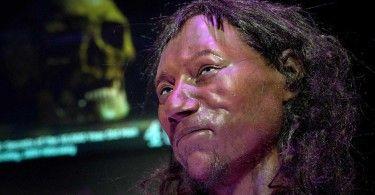 Чеддер Британия древний человек
