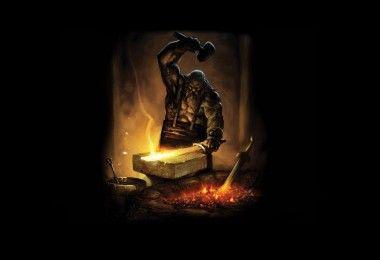металлургия кузнец меч