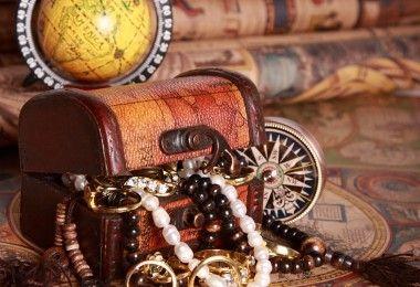 сокровища золото карта история