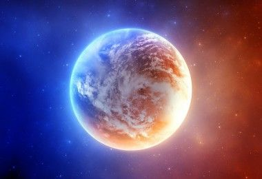 космос планета