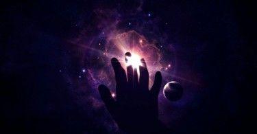 свет космос рука вселенная муть хрень