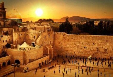 Иерусалим город стена мечеть церковь синагога