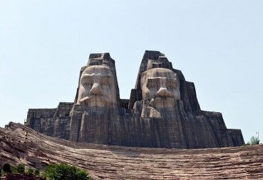 Ян-ди Хуан-ди Китай статуя