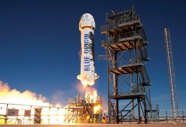 Blue Origin ракета космос