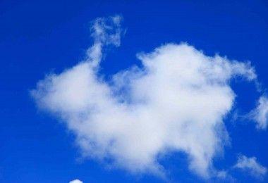 облако небо