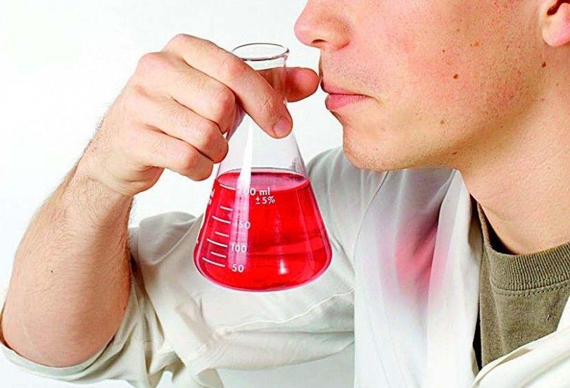 запах нюхает химия наука